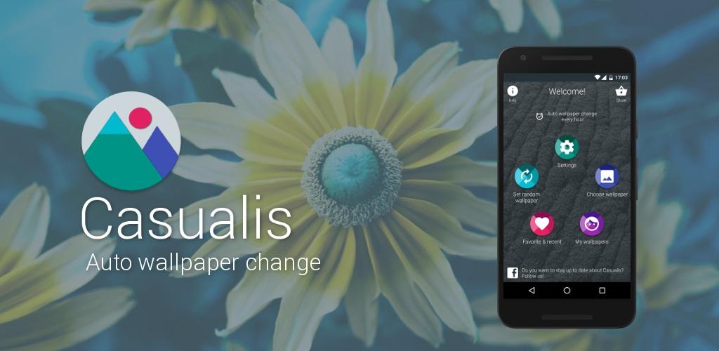 دانلود Casualis:Auto wallpaper change Pro   برنامه تغییر خودکار والپیپر اندروید